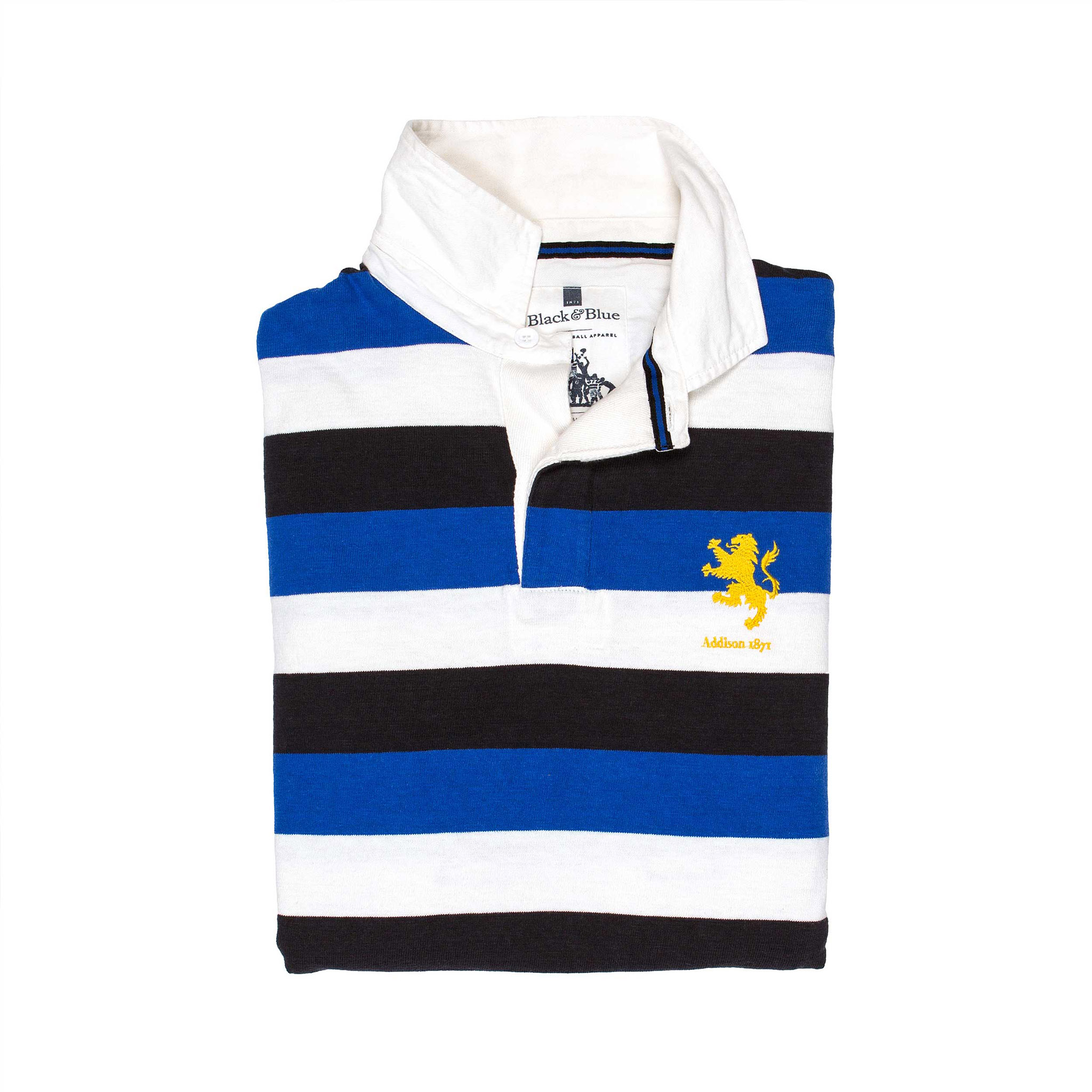 Addison 1871 Rugby Shirt - folded