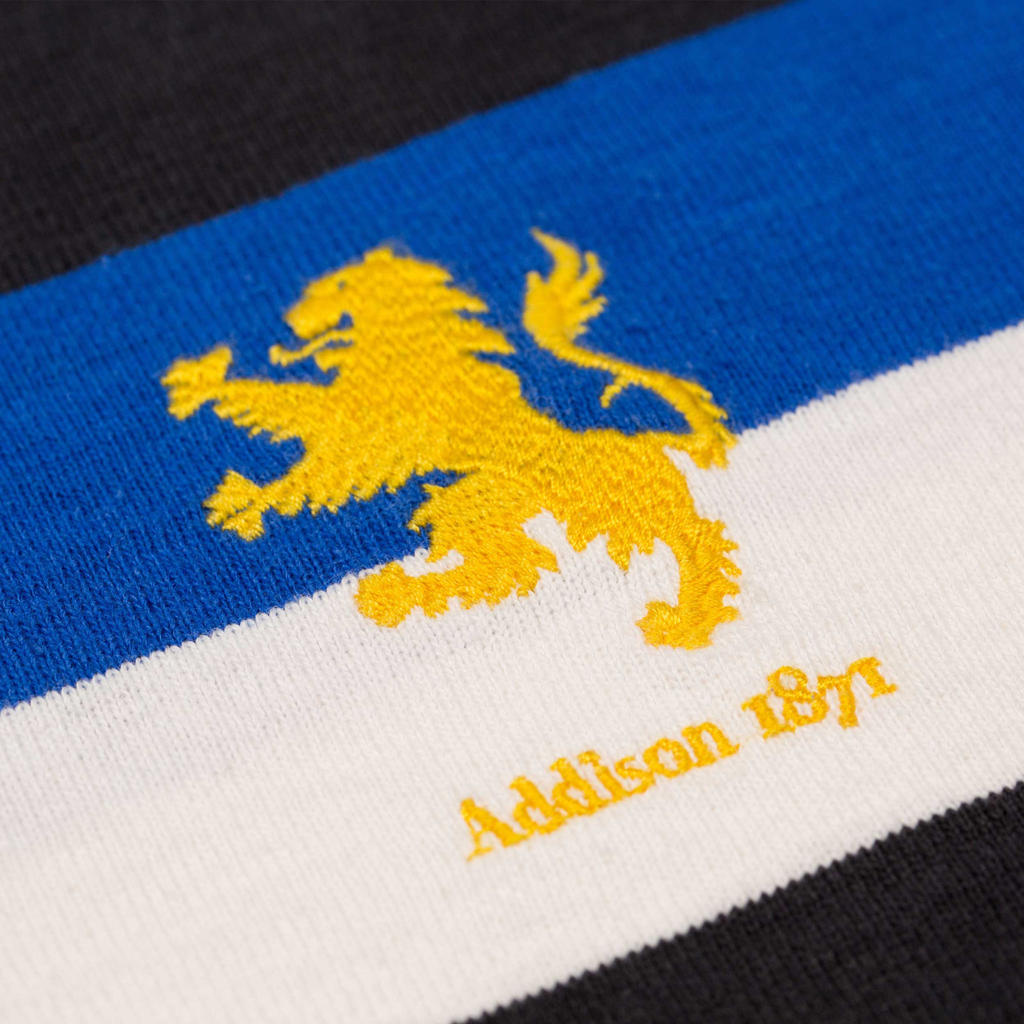 Addison 1871 Rugby Shirt Logo
