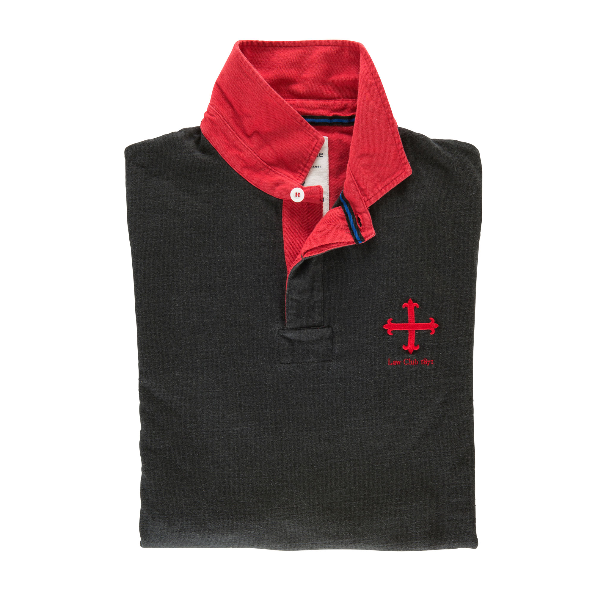 Law Club 1871 Rugby Shirt - folded