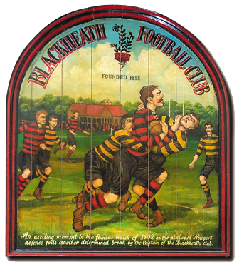 Blackheath rugby painting
