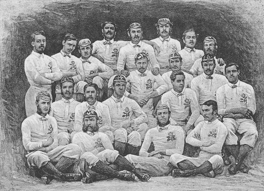 The first England rugby team