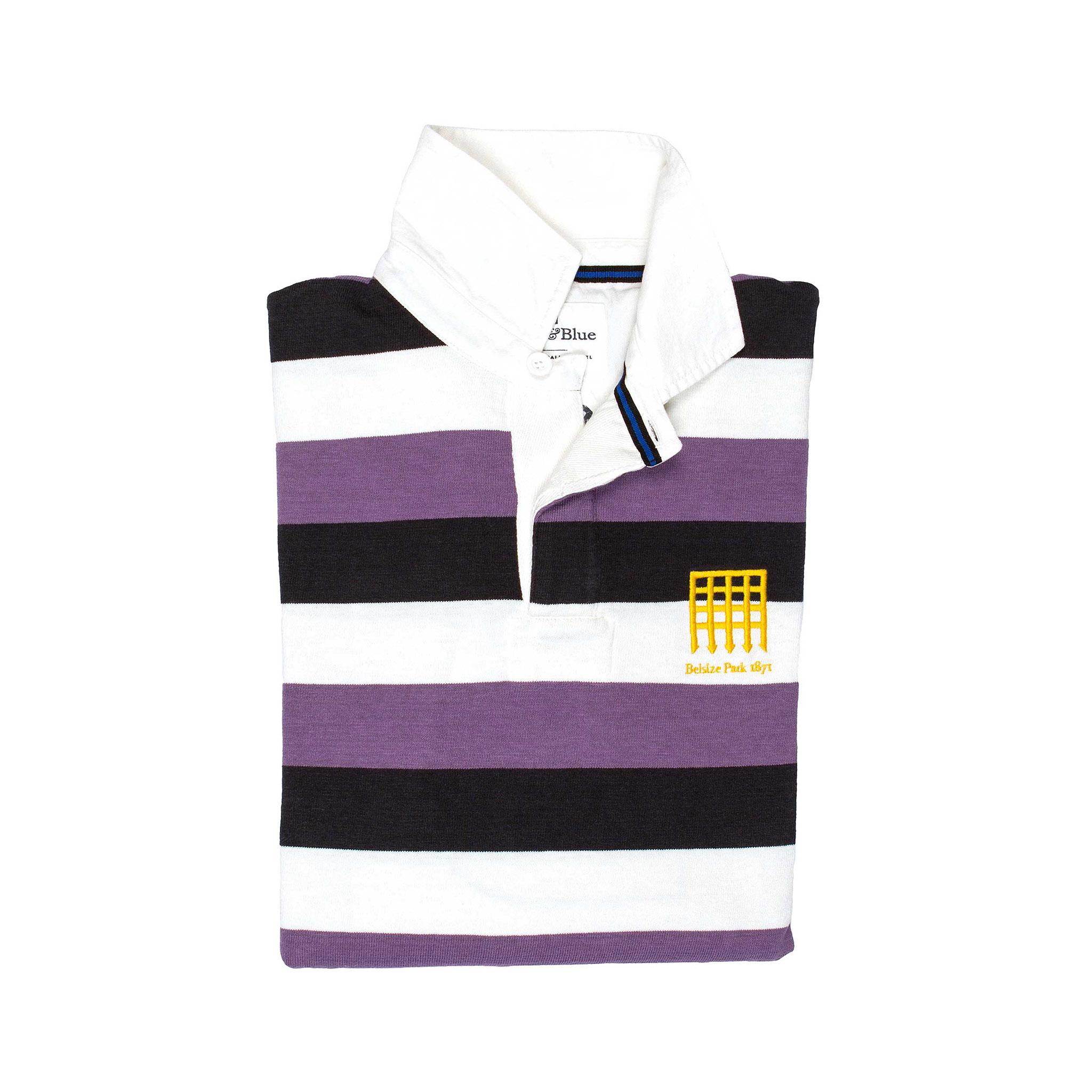 Belsize Park 1871 Rugby Shirt - folded