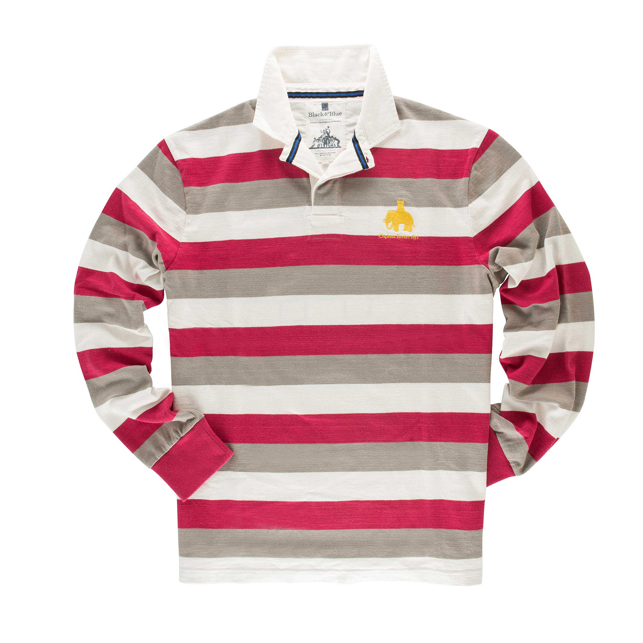 Clapham Rovers 1871 Rugby Shirt - front