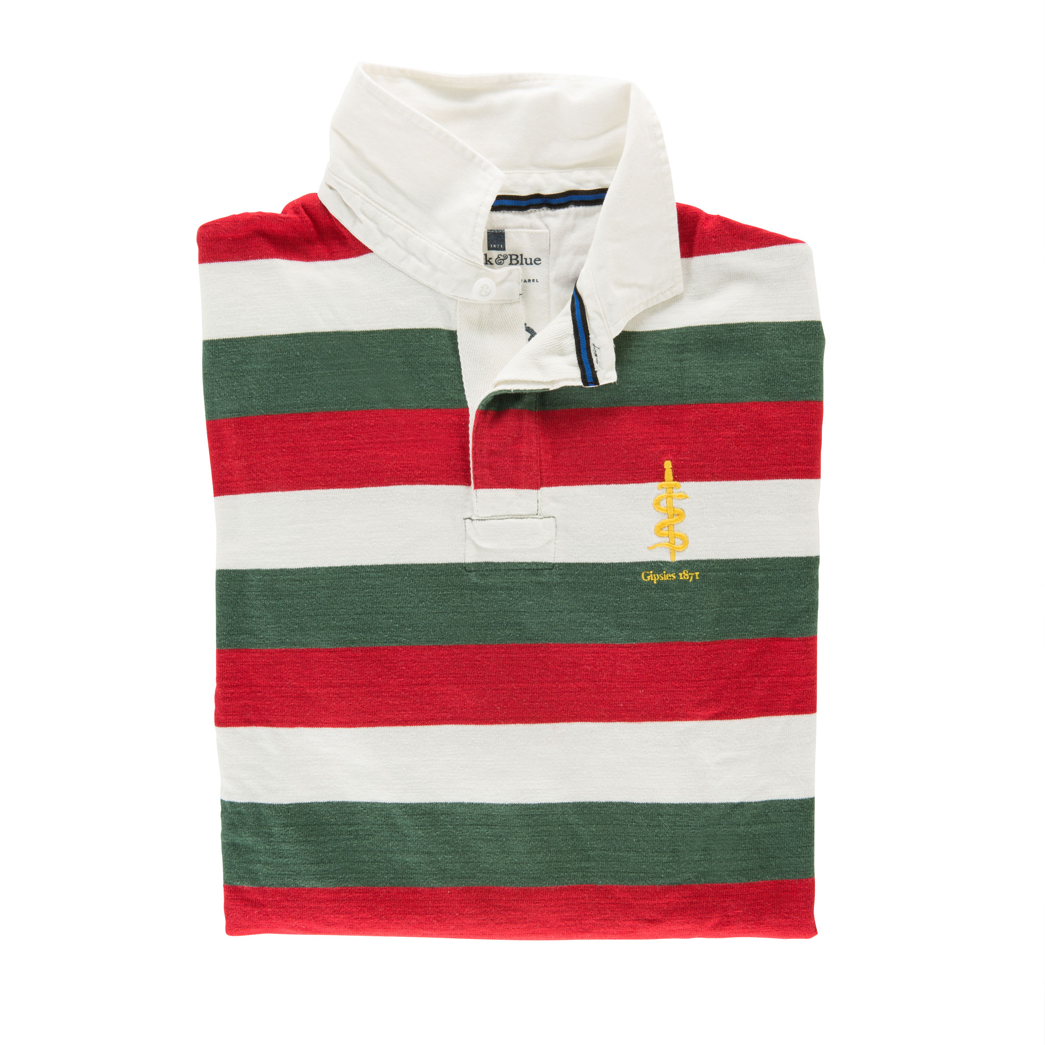 Gipsies 1871 Rugby Shirt - folded