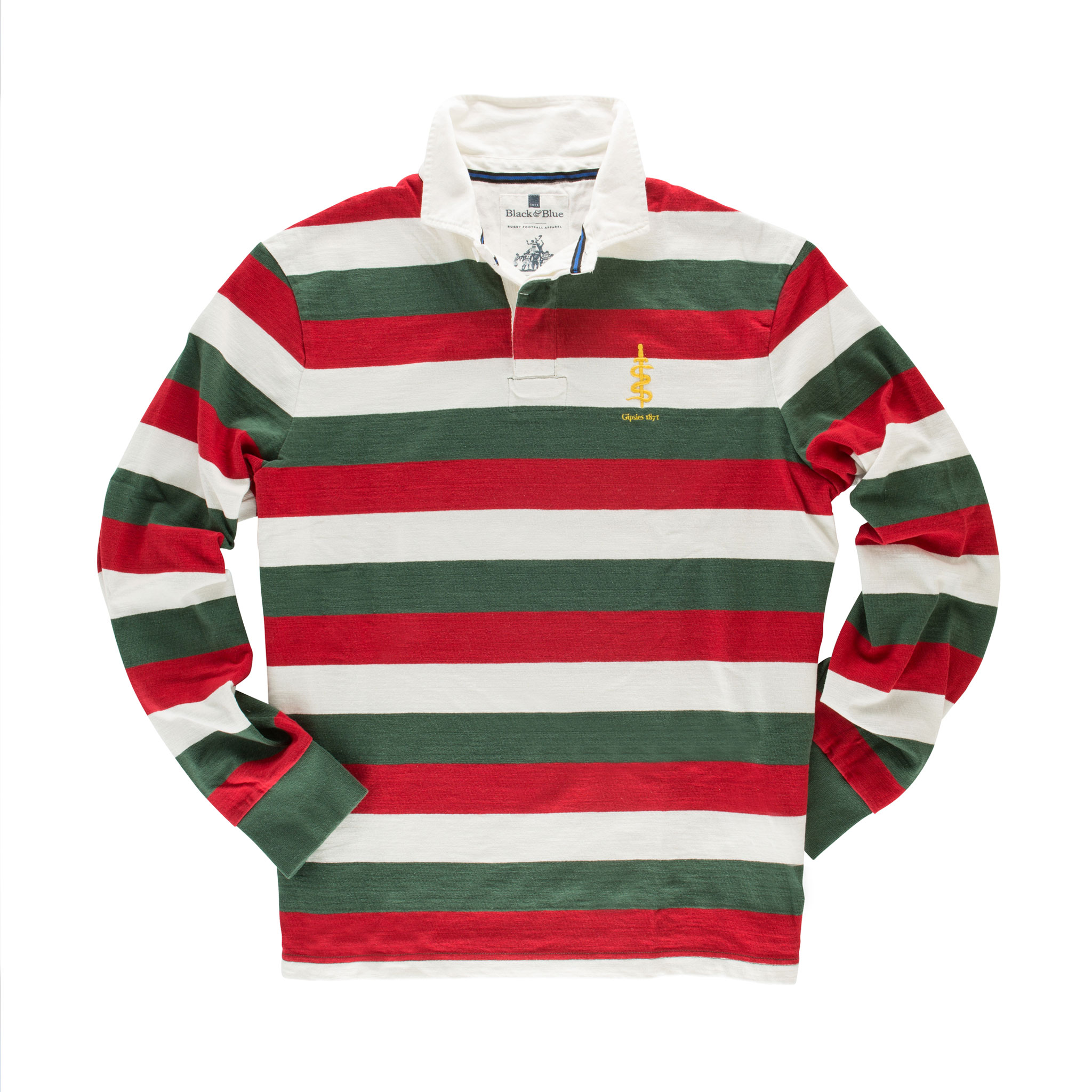 Gipsies 1871 Rugby Shirt - front