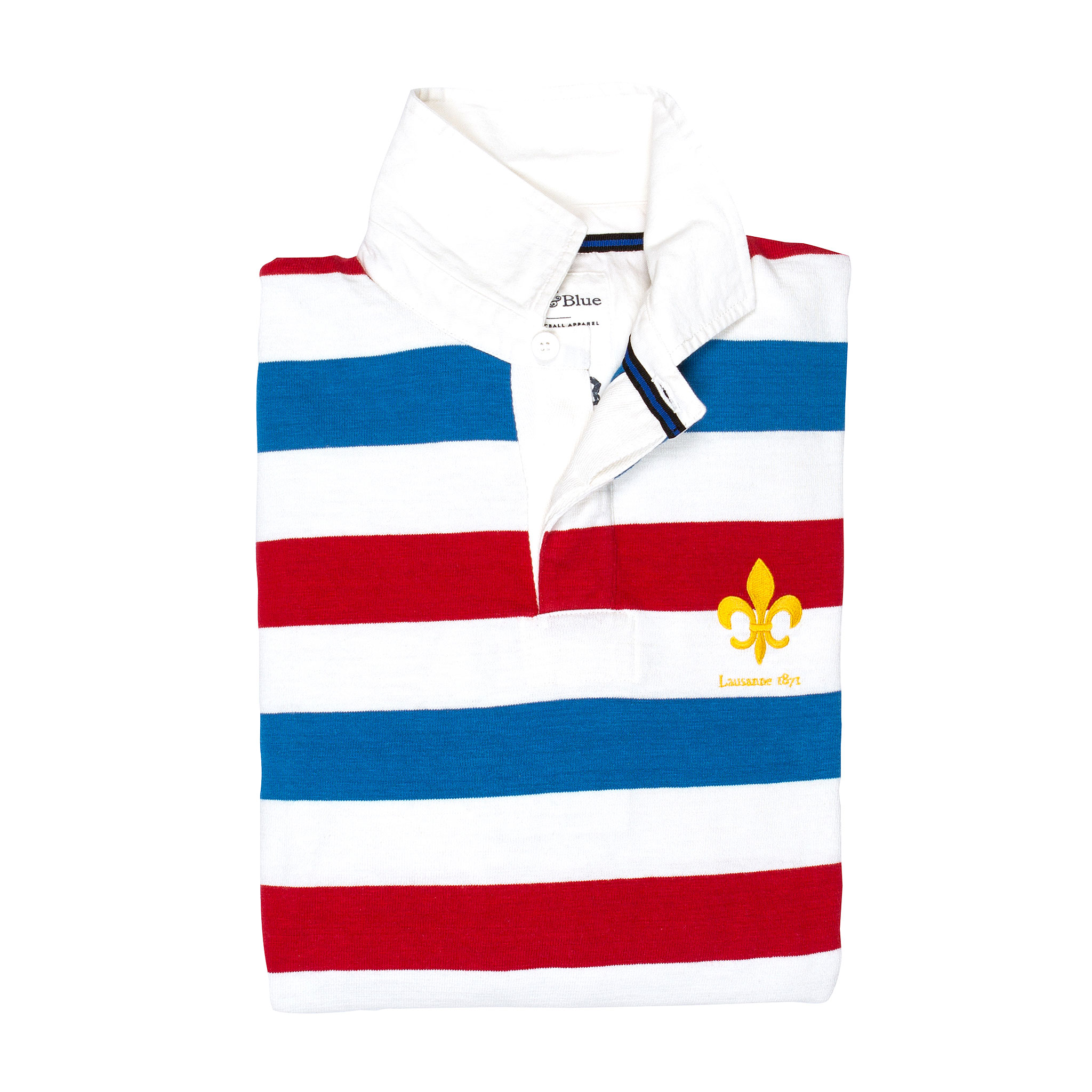 Lausanne 1871 Rugby Shirt - folded