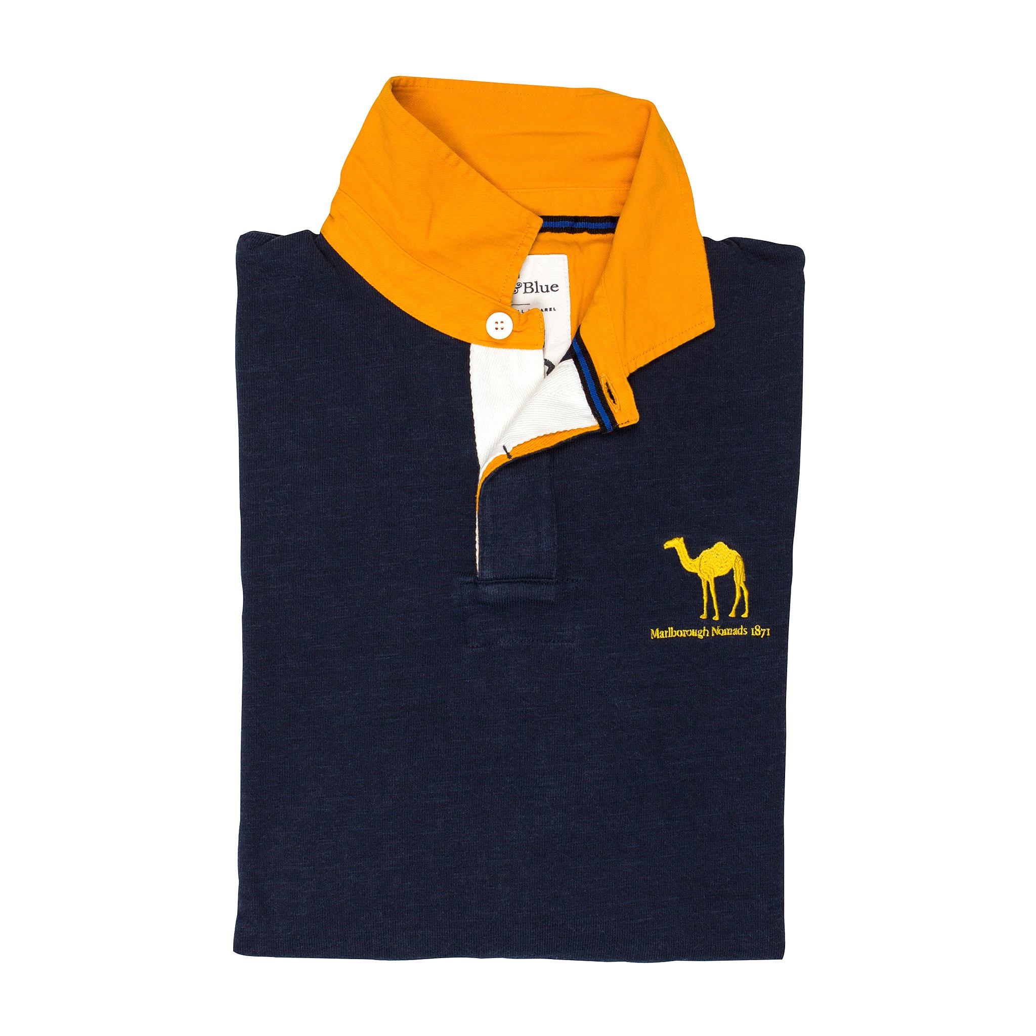 Marlborough Nomads 1871 Rugby Shirt - folded