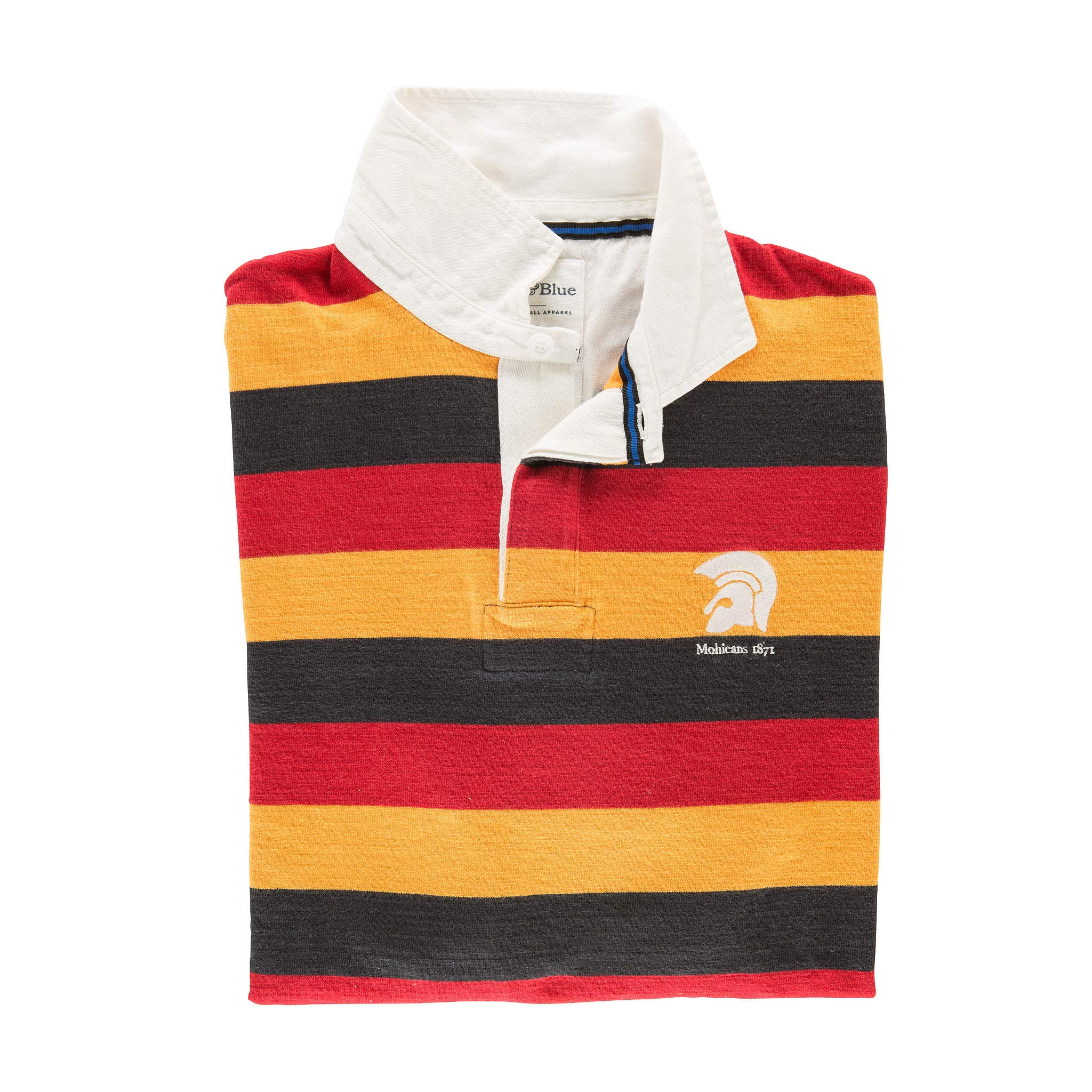 Mohicans 1871 Rugby Shirt - folded