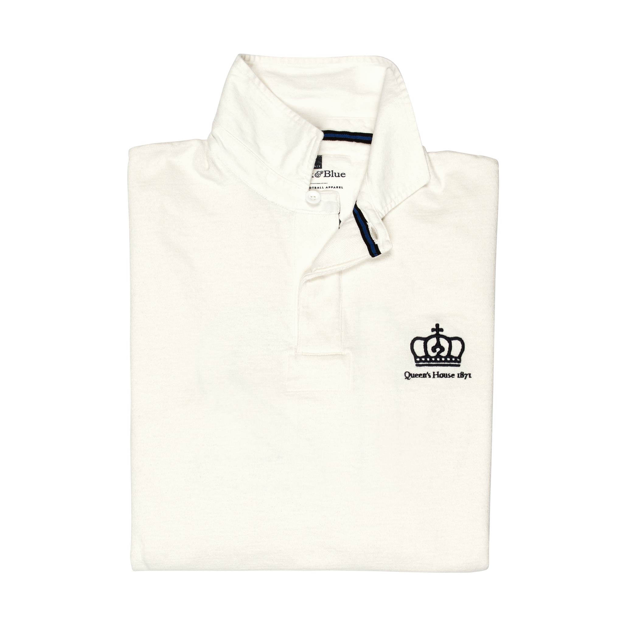 Queen's House 1871 Limited Edition Rugby Shirt - folded