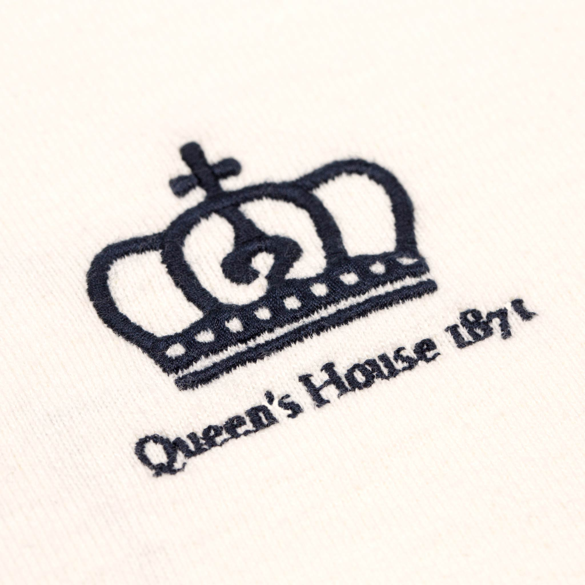 Queen's House 1871 Limited Edition Rugby Shirt Logo