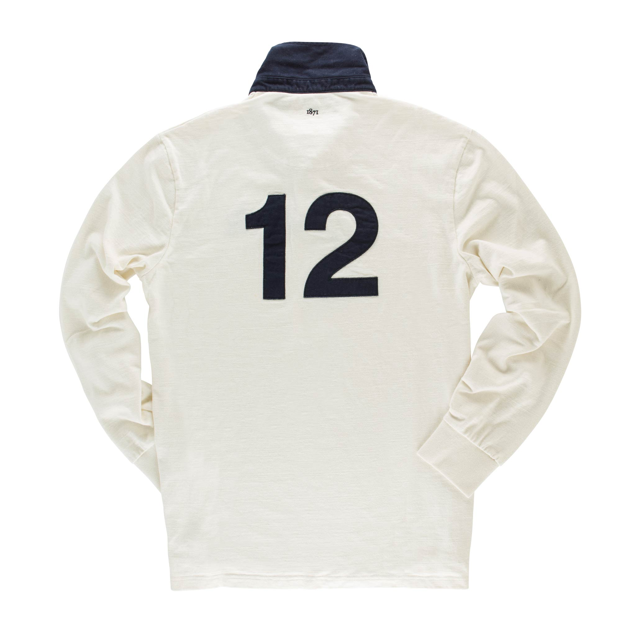 Queen's House 1871 Rugby Shirt - back