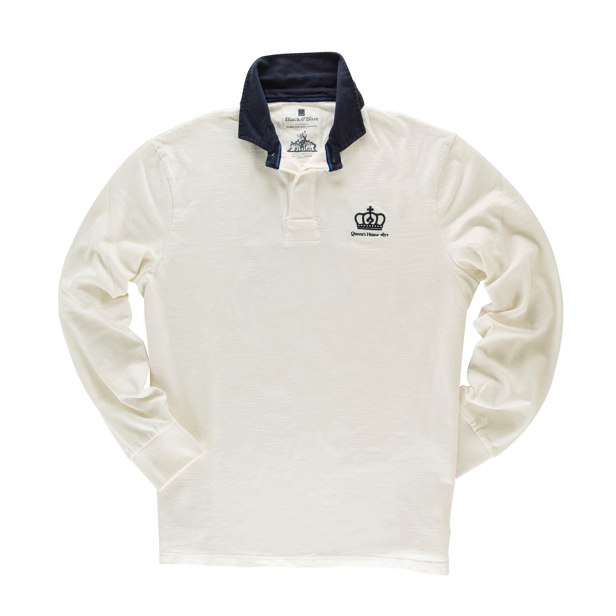 Queen's House 1871 Rugby Shirt - front
