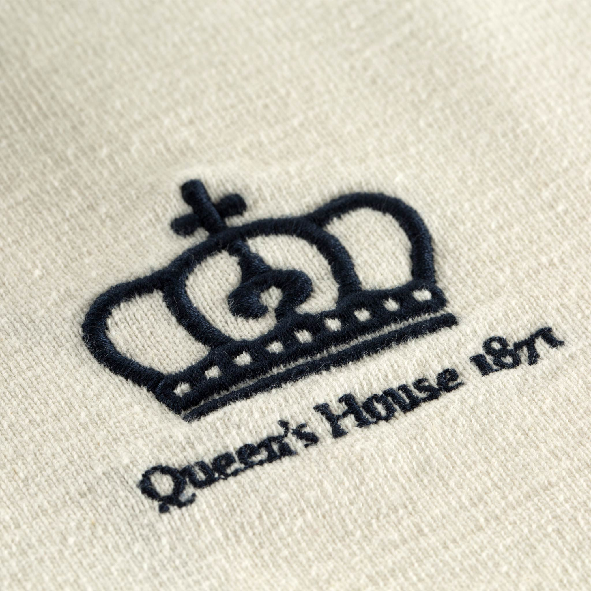 Queen's House 1871 Rugby Shirt Logo