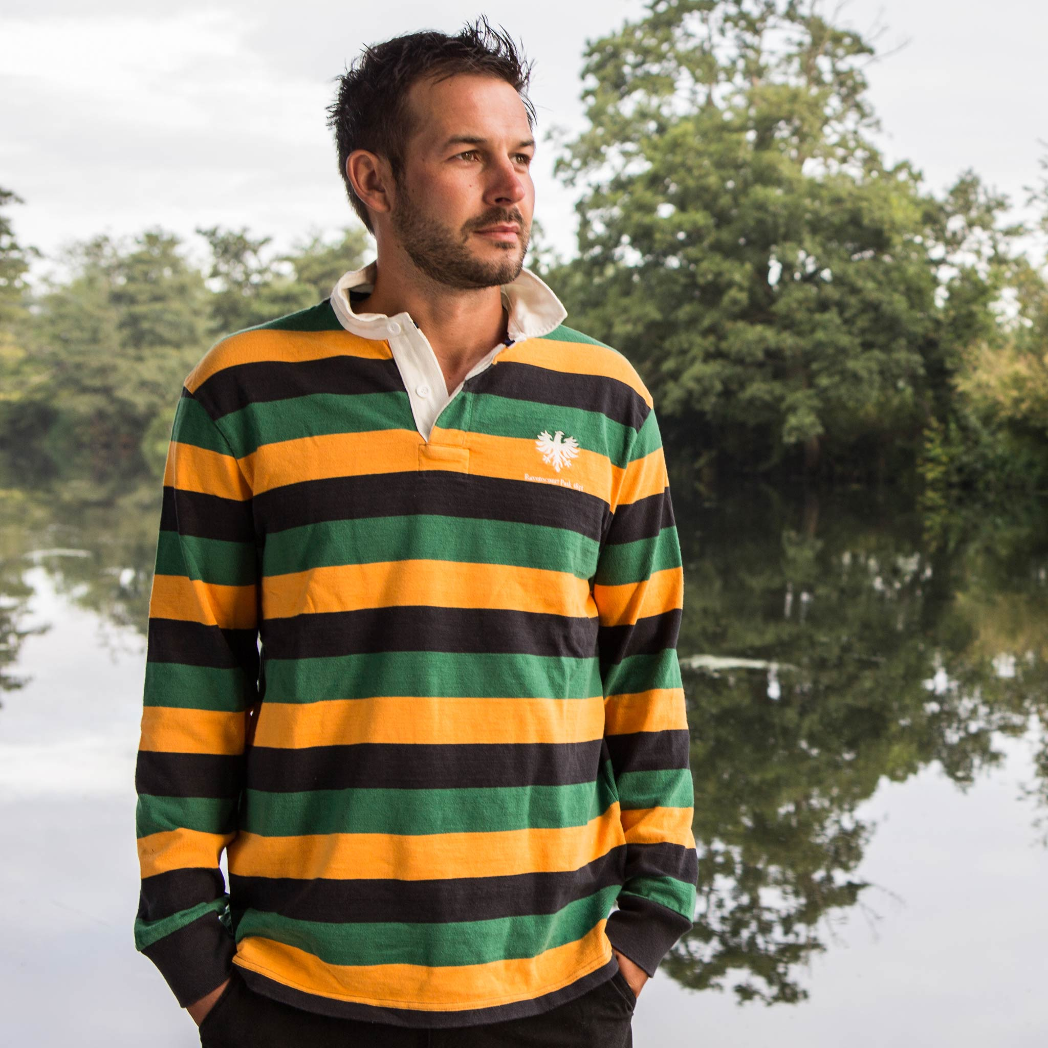 Ravenscourt Park 1871 Rugby Shirt - model
