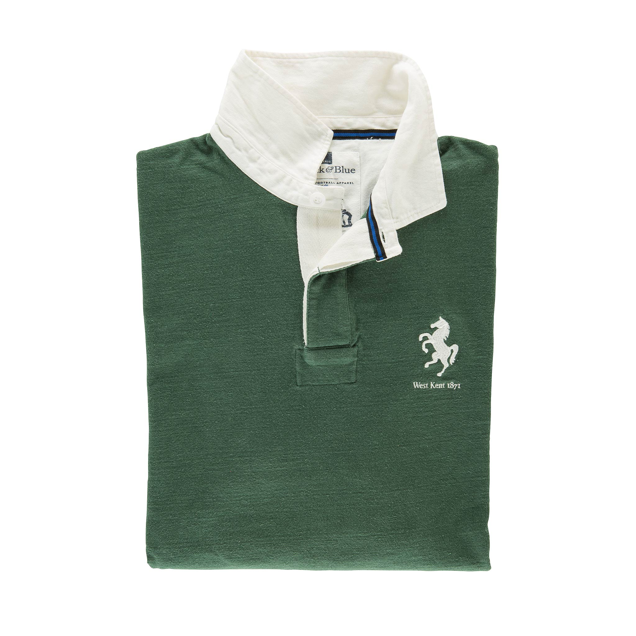 West Kent 1871 Rugby Shirt - folded