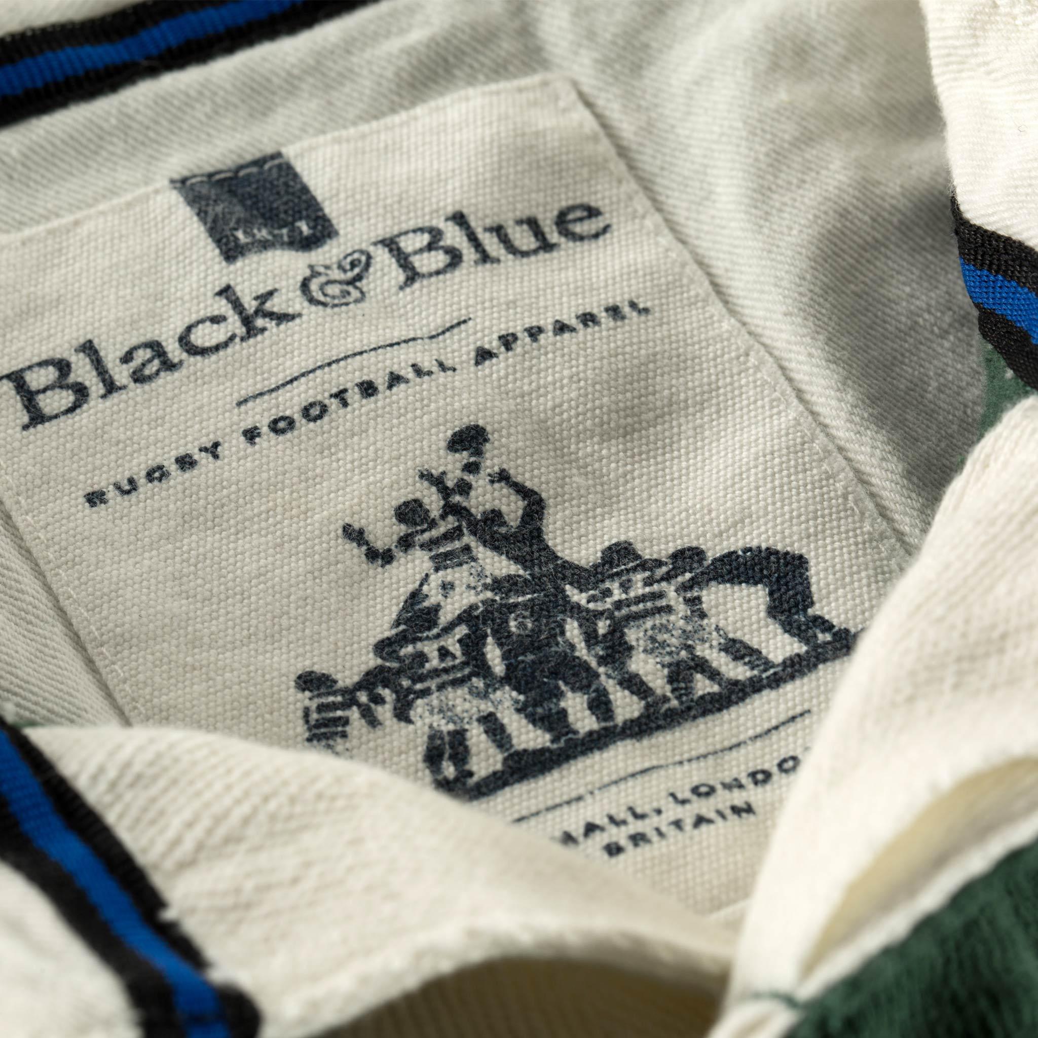 West Kent 1871 Rugby Shirt neck label