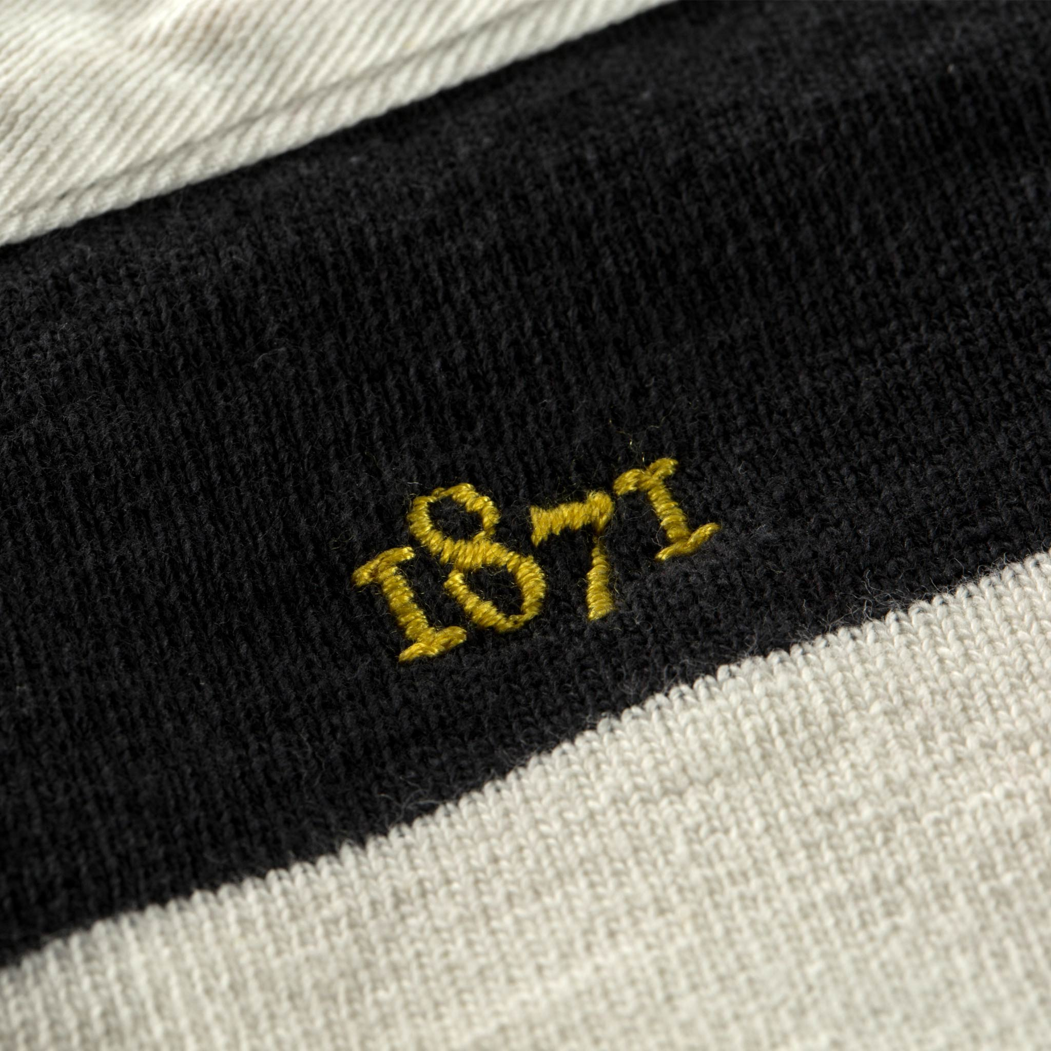 Wimbledon Hornets 1871 embroidery