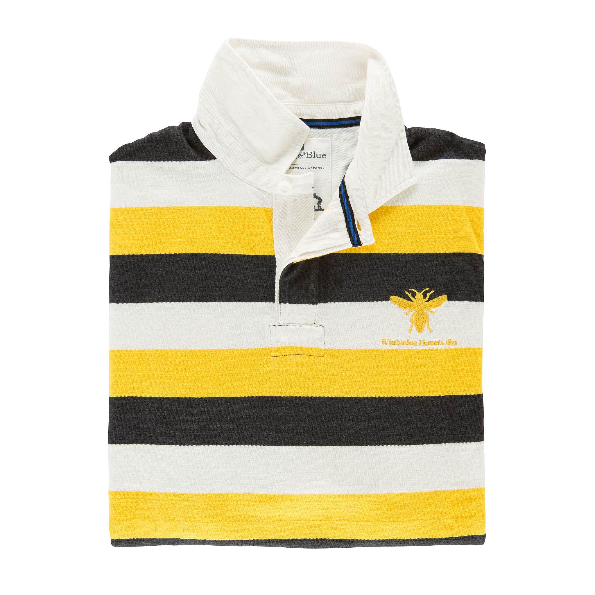 Wimbledon Hornets 1871 Rugby Shirt - folded