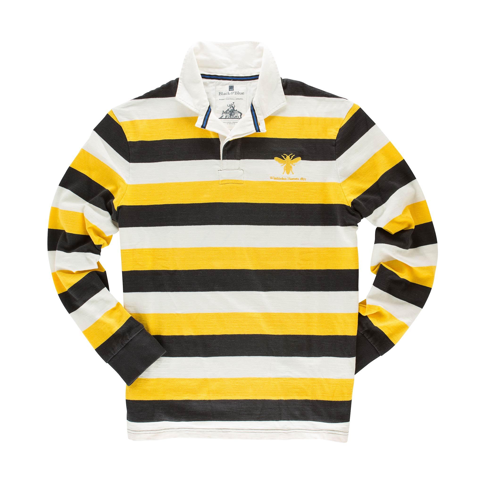 Wimbledon Hornets 1871 Rugby Shirt - front