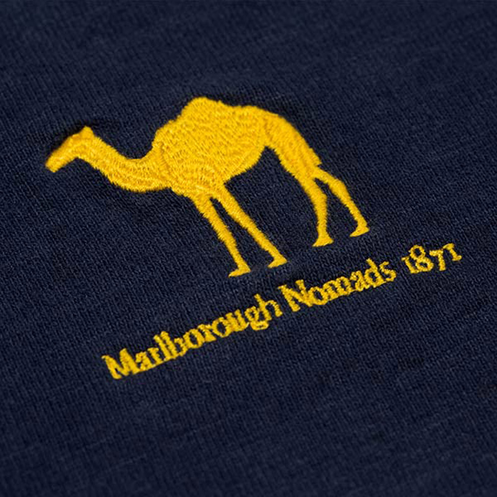 Marlborough Nomads 1871 Rugby Shirt Logo