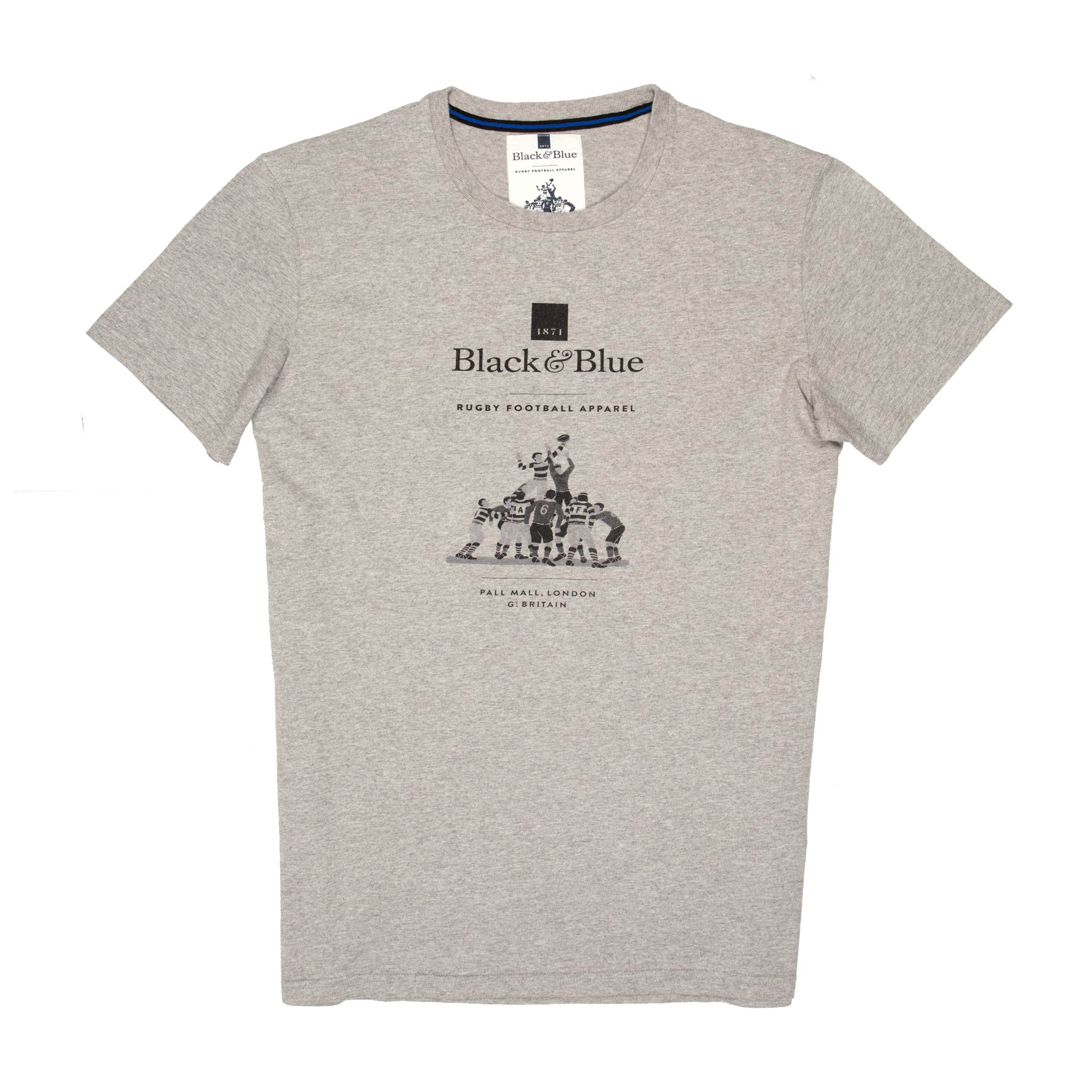 BB1871 Grey logo T-shirt