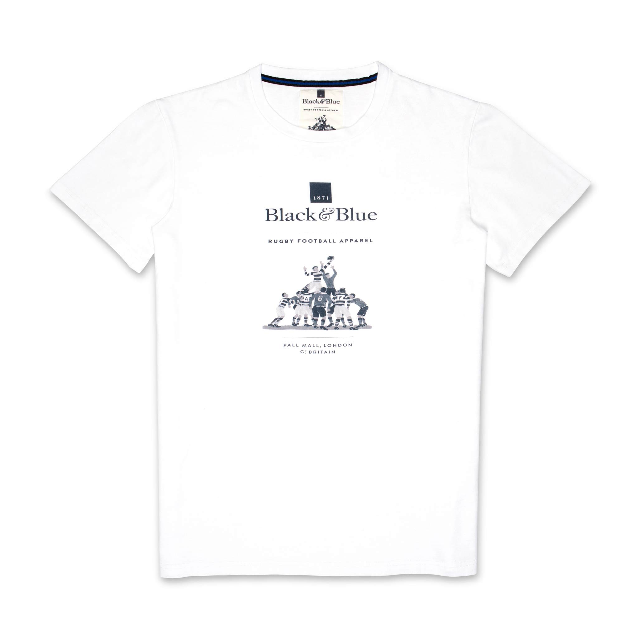 BB1871 White logo T-shirt