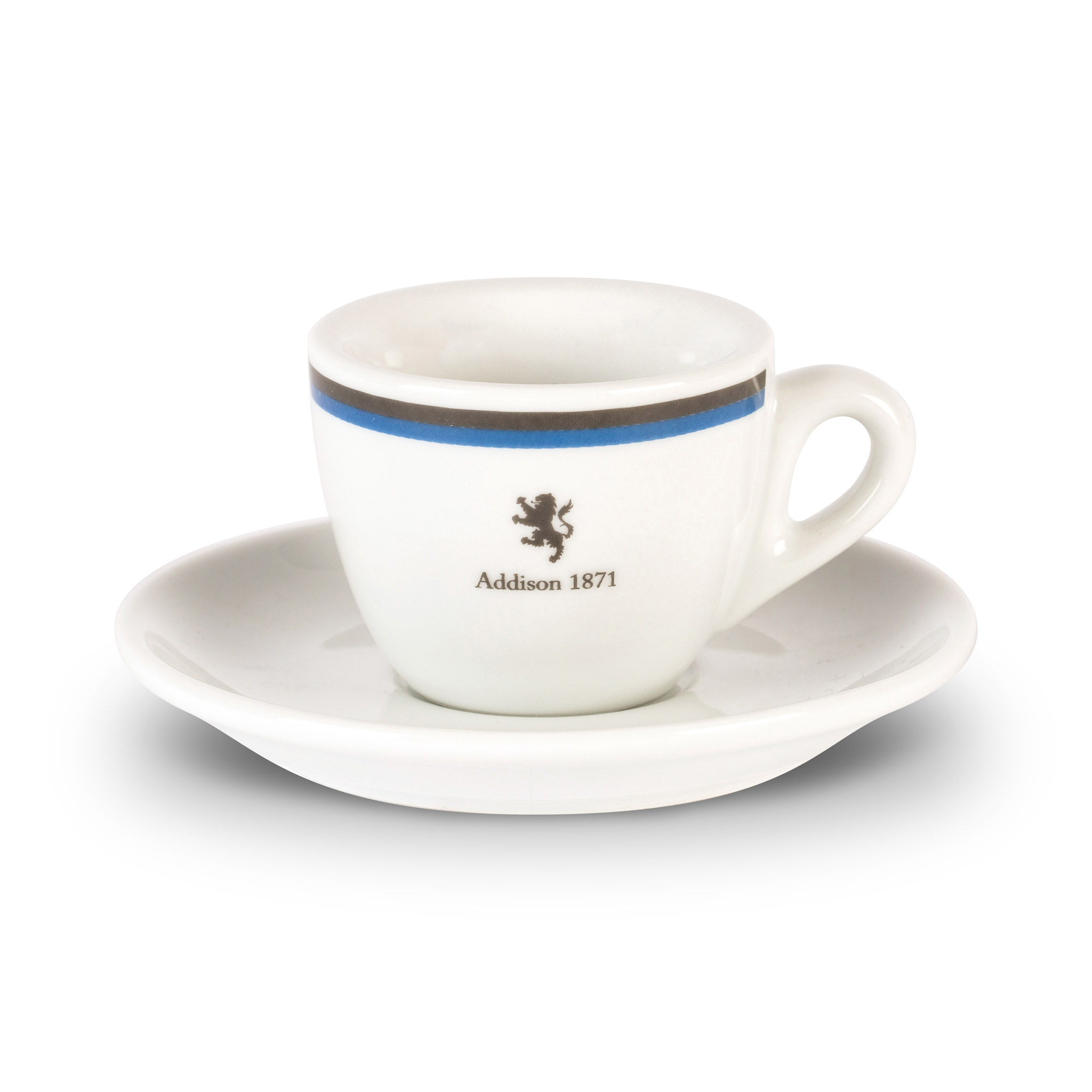 Addison espresso cup and saucer