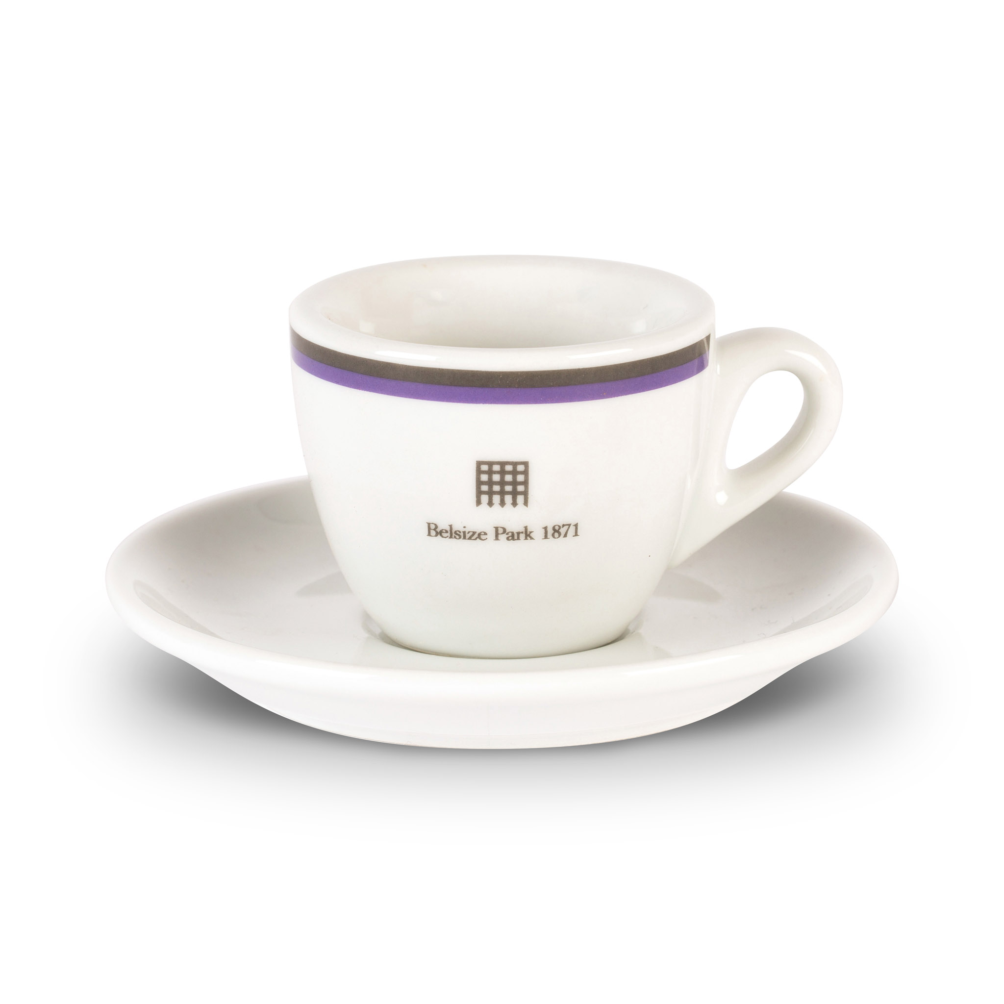 Belsize Park espresso cup and saucer