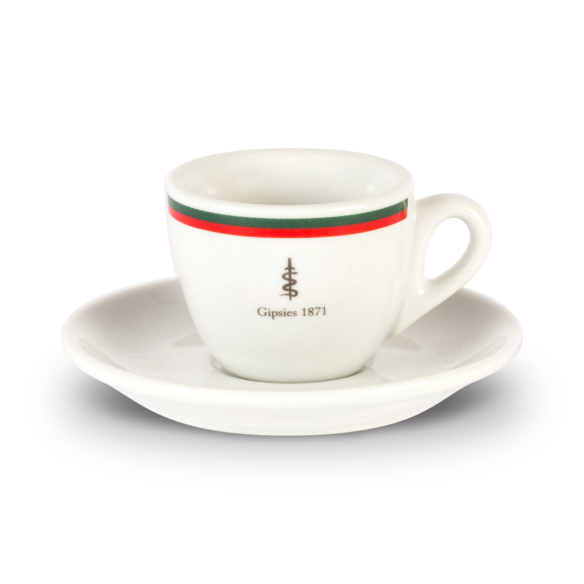 Gipsies espresso cup and saucer