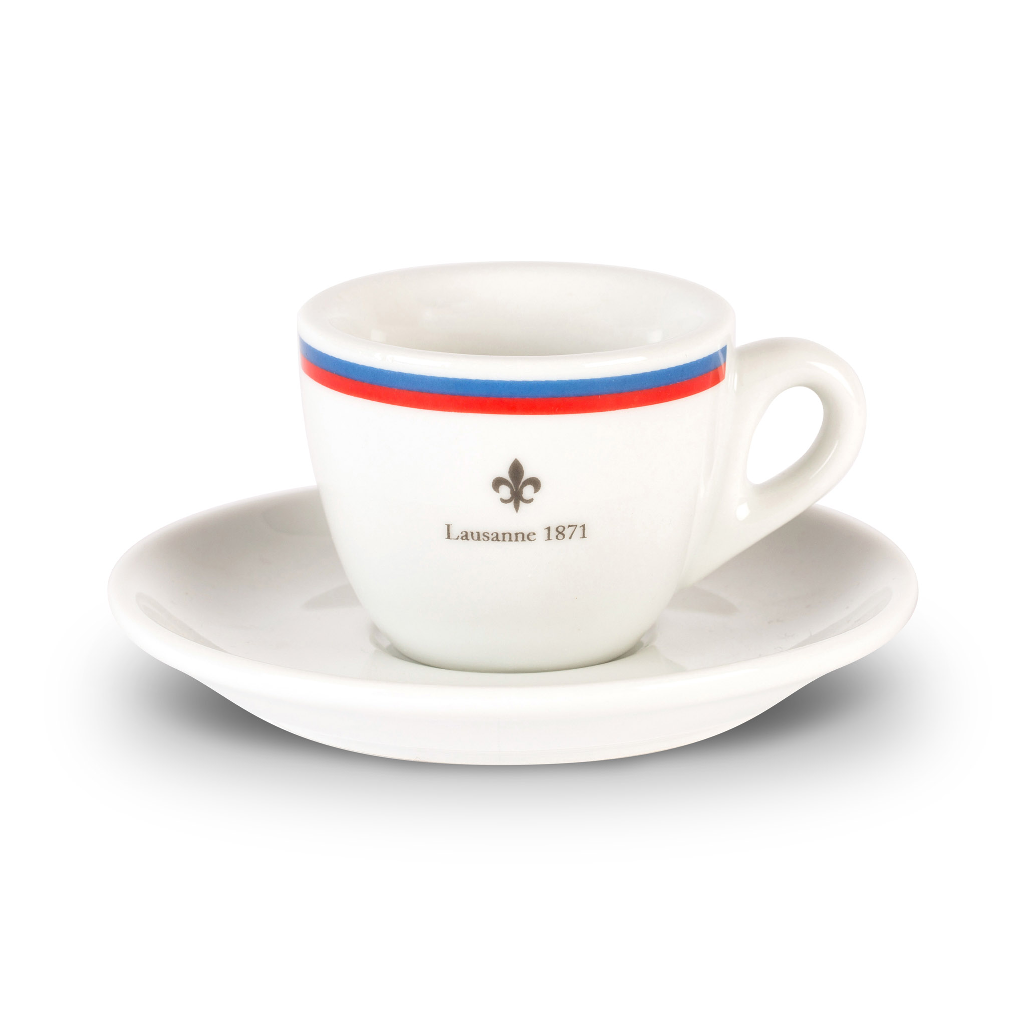 Lausanne espresso cup and saucer