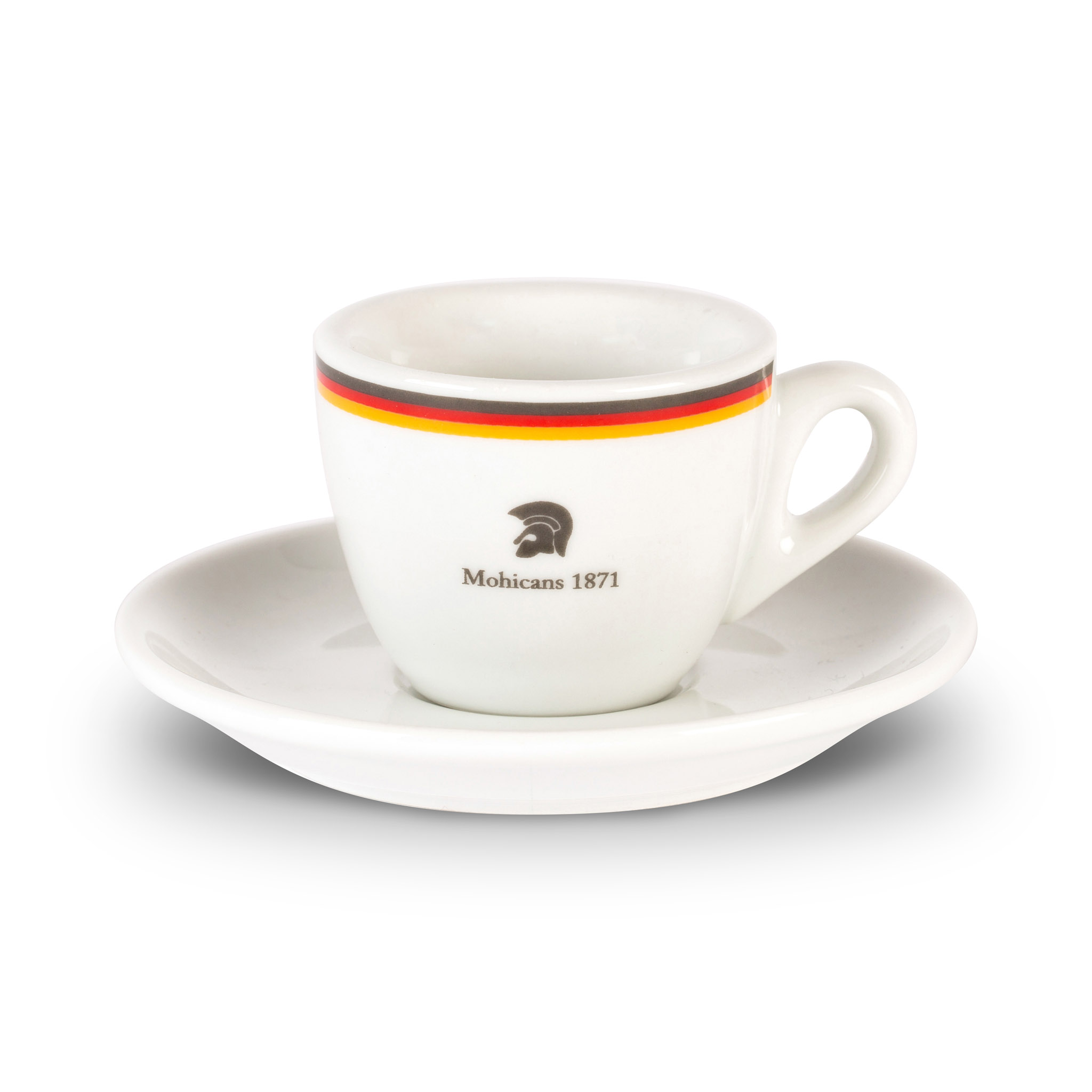 Mohicans espresso cup and saucer