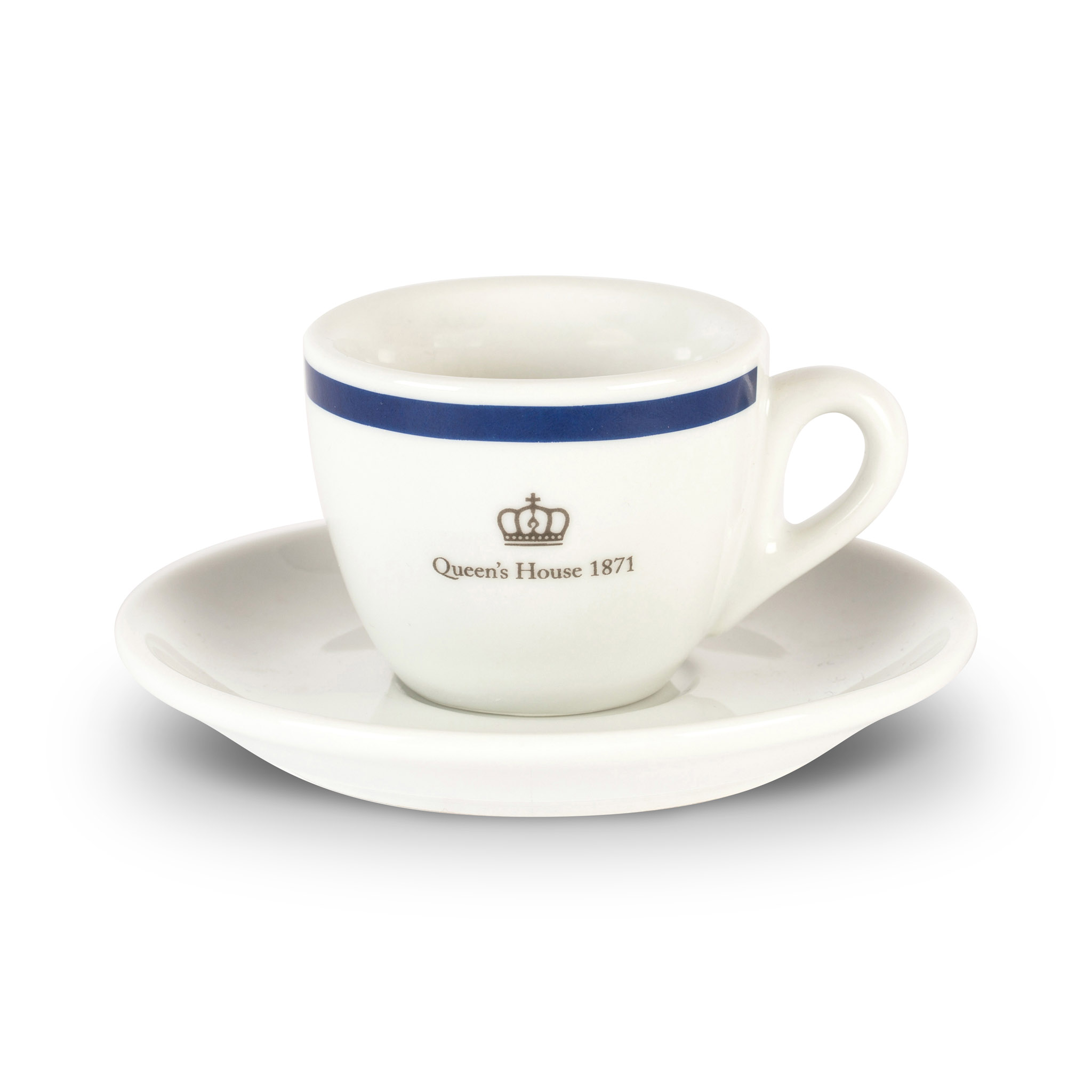 Queen's House espresso cup and saucer