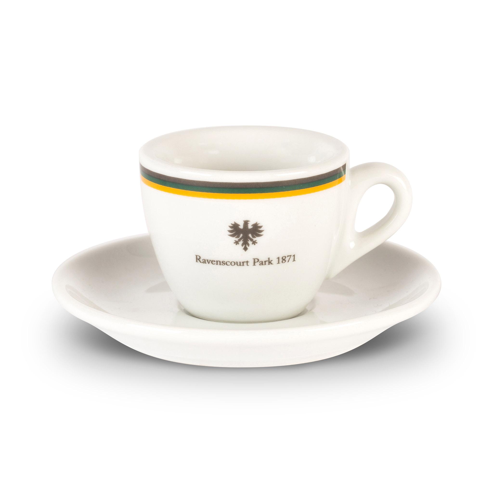 Ravenscourt Park espresso cup and saucer