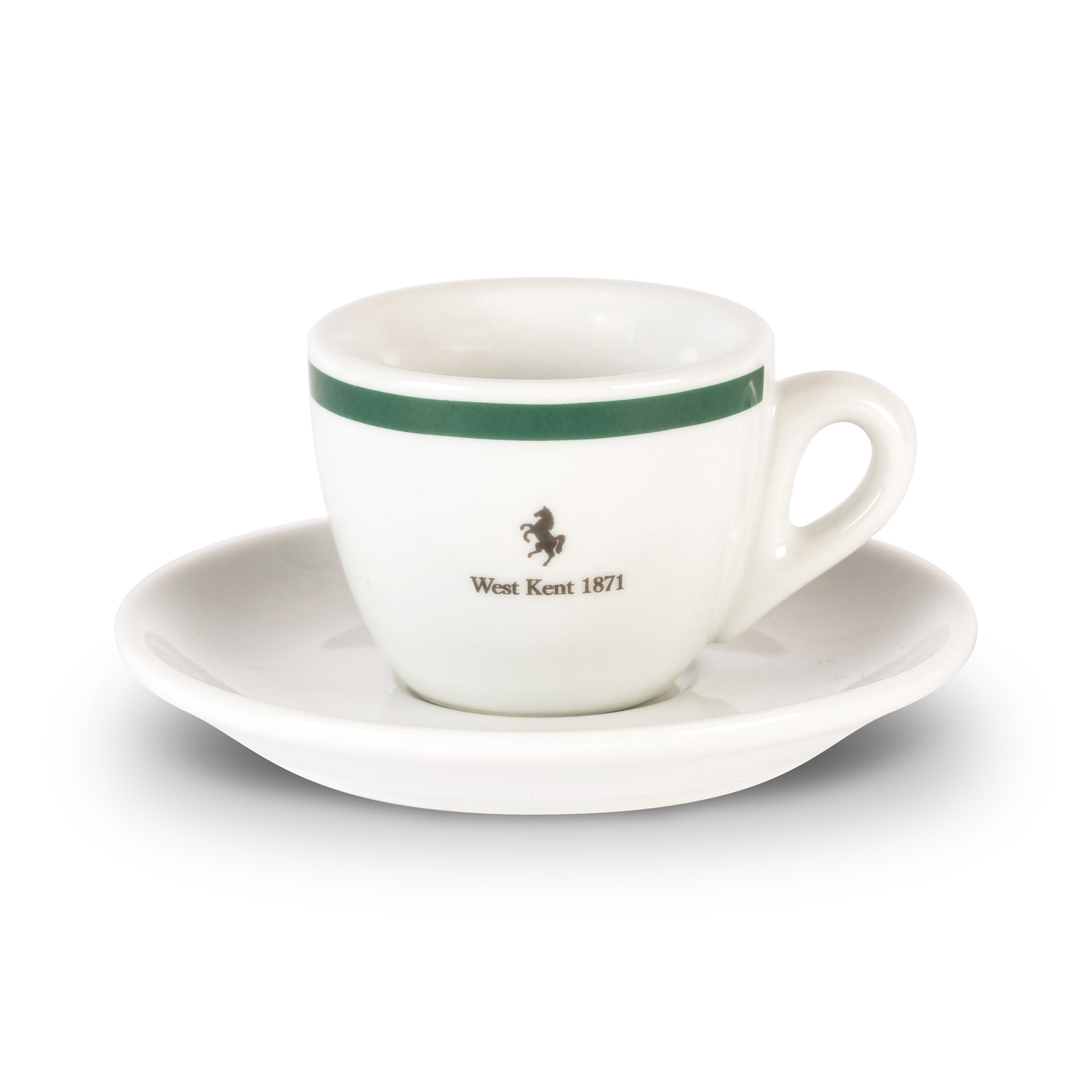 West Kent espresso cup and saucer