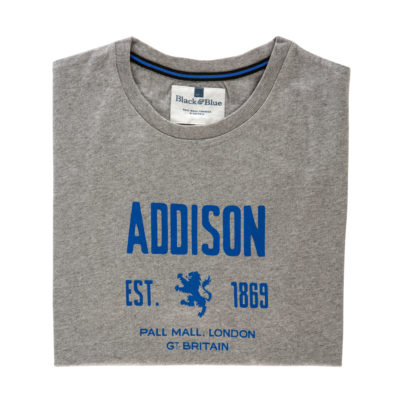 Addison Grey T-shirt - Folded