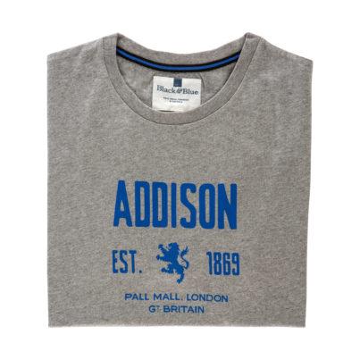 Addison Grey T-shirt - Folded