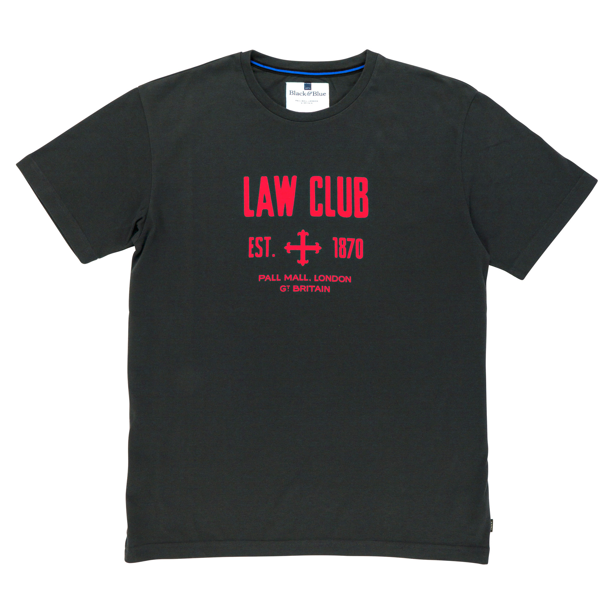 Law Club Asphalt T-shirt