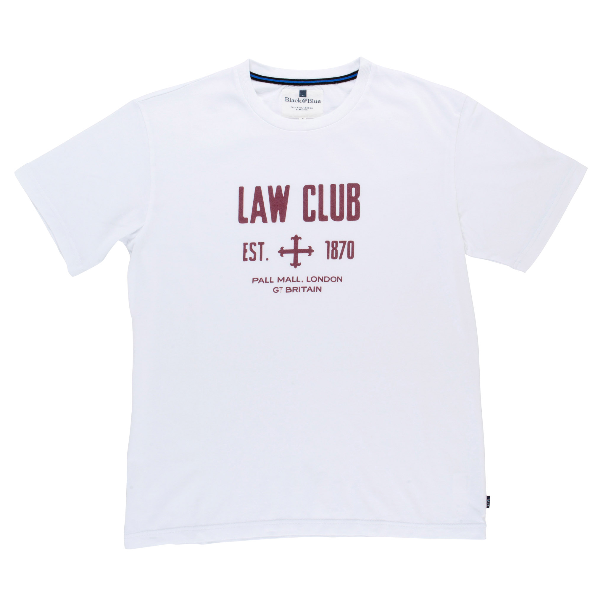 Law Club White T-shirt