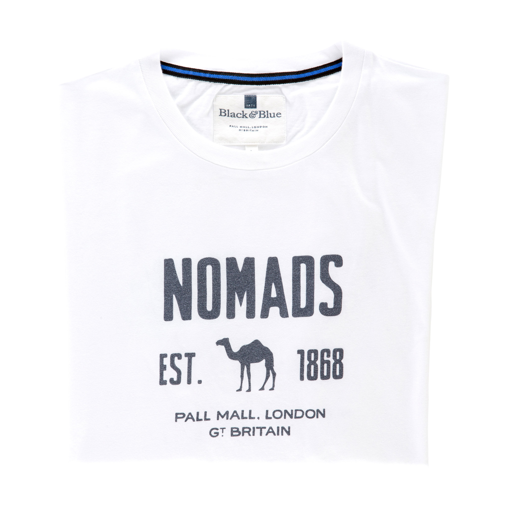 Nomads White T-shirt - folded