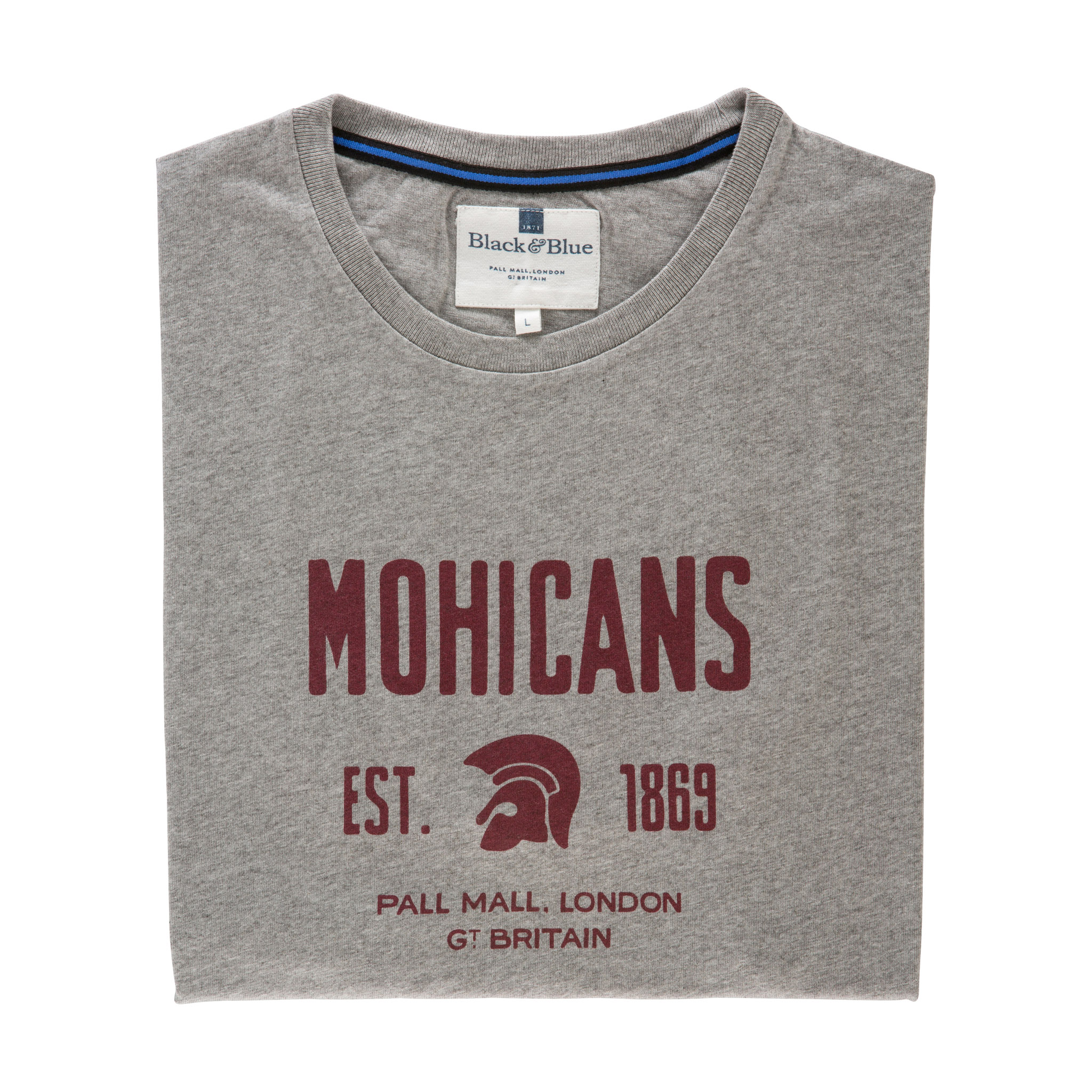 Mohicans Grey T-shirt - folded