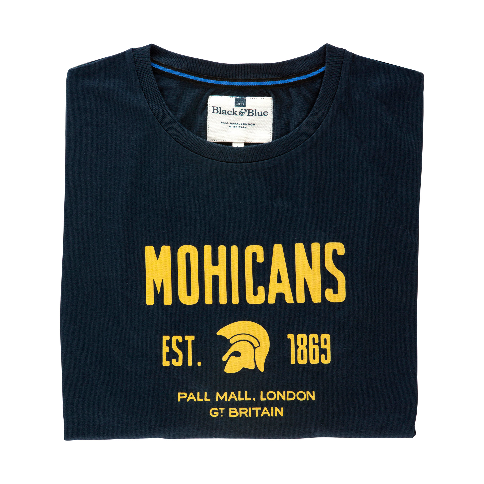 Mohicans Navy T-shirt - folded
