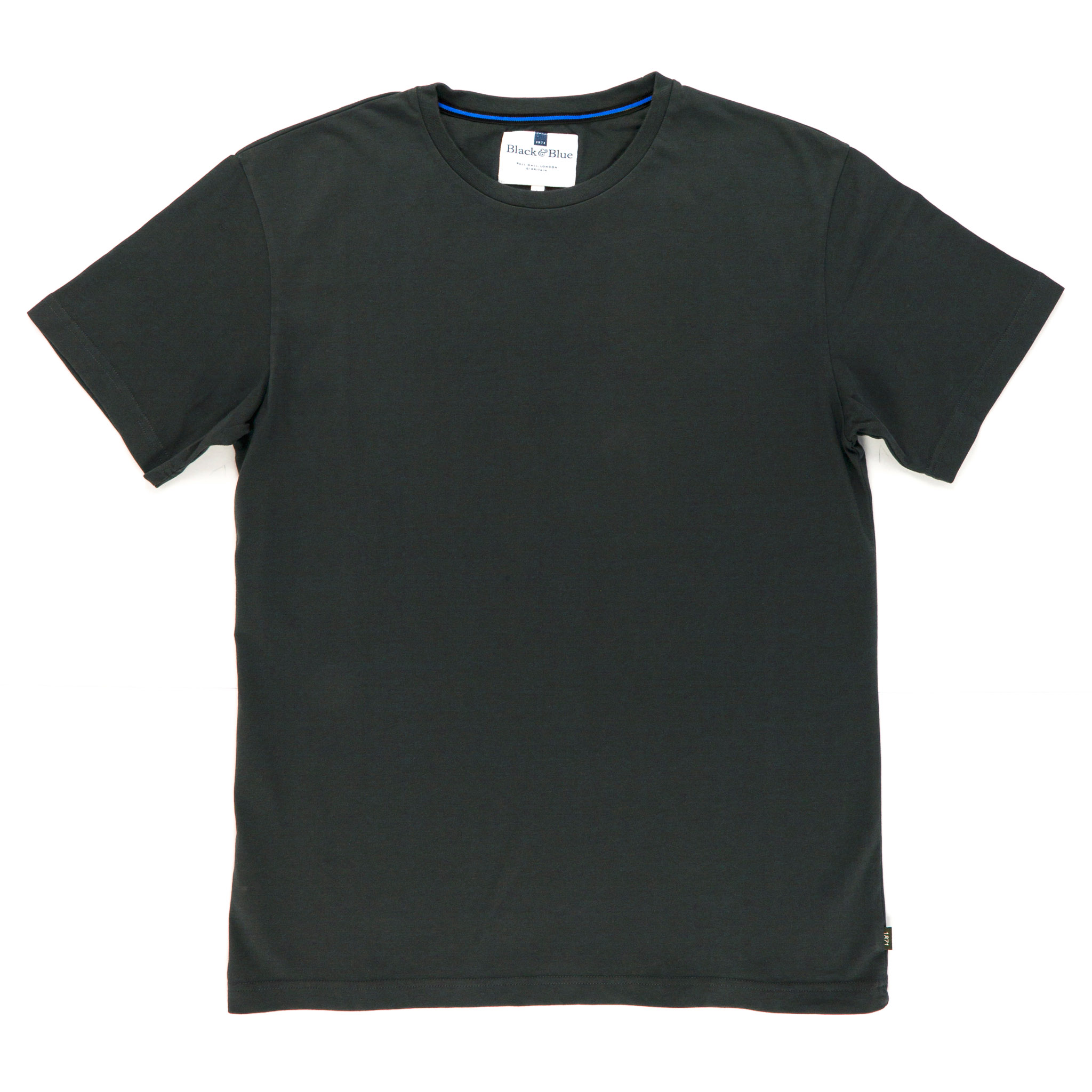 Asphalt Organic cotton T-shirt - Folded
