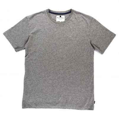 PLAIN LIGHT GREY 1871 T-SHIRT