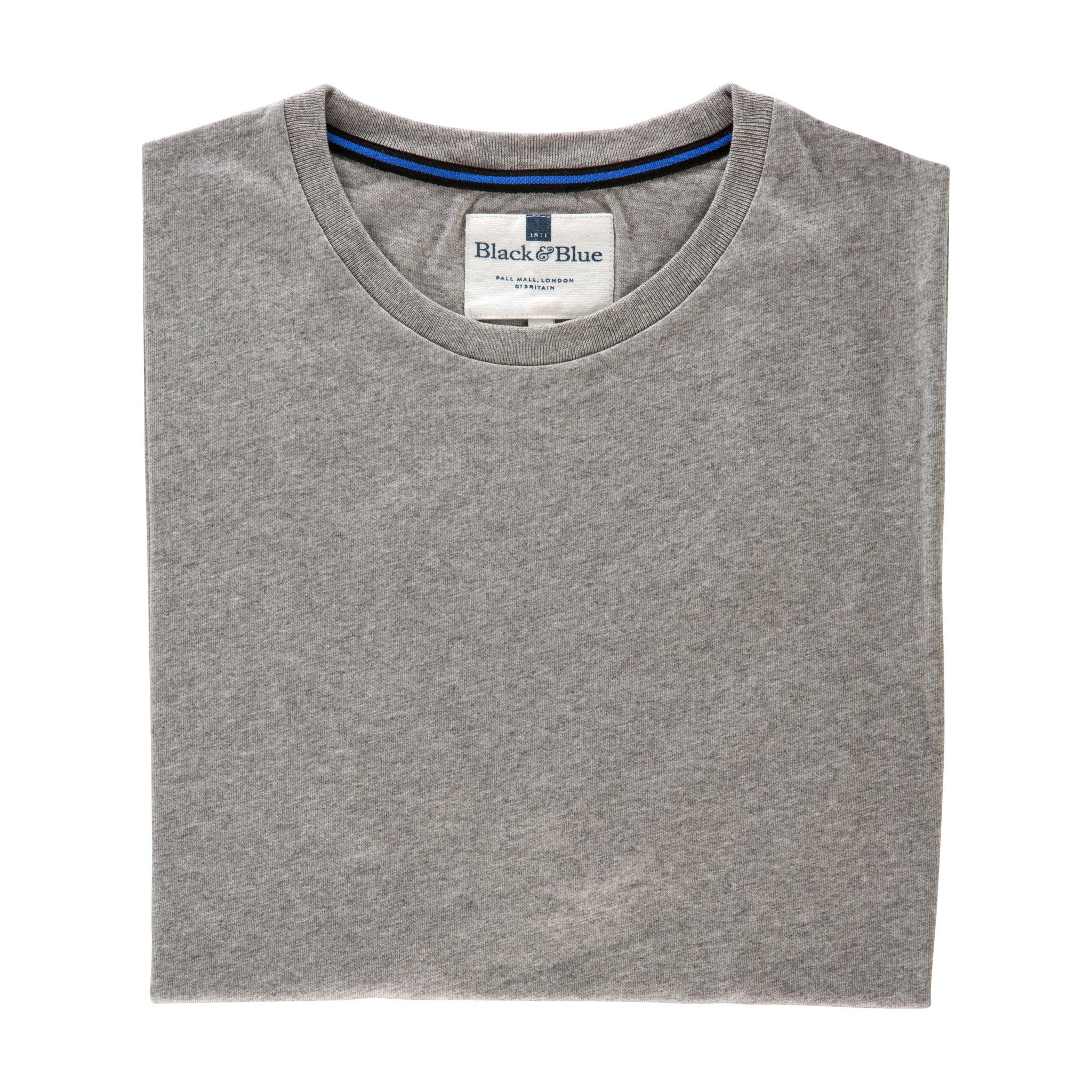 Grey Organic cotton T-shirt - Folded