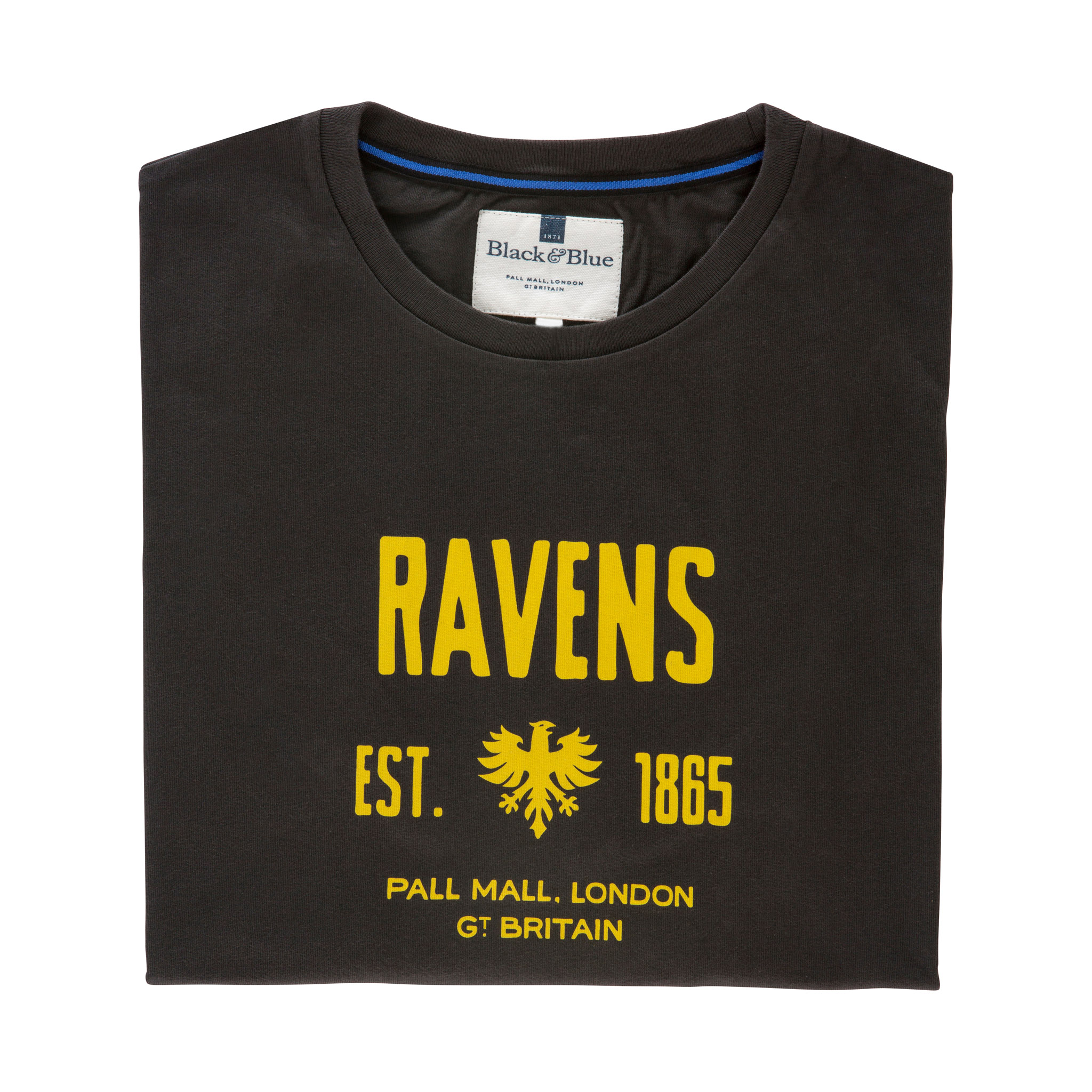 Ravens Navy T-shirt - folded