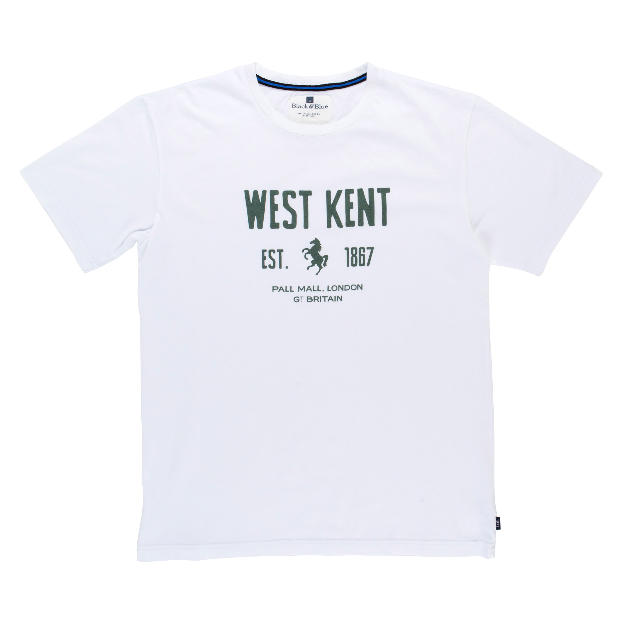 West Kent White T-shirt