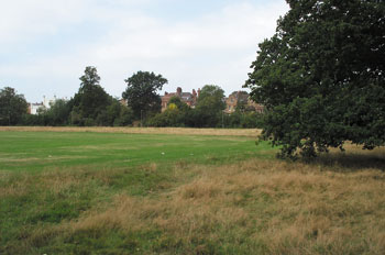 Clapham Rovers pitch at Bedford Hill