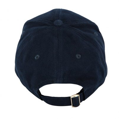 Black And Blue 1871 Baseball Cap - Back