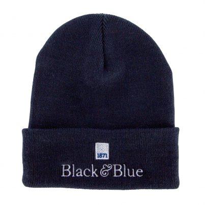 BLACK&BLUE 1871 BEANIE