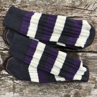 Belsize Park Slipper Sock - Overhead
